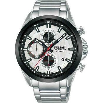 Ceasuri & Bijuterii Bărbați Ceasuri Analogice Pulsar PM3183X1, Quartz, 44mm, 10ATM Argintiu