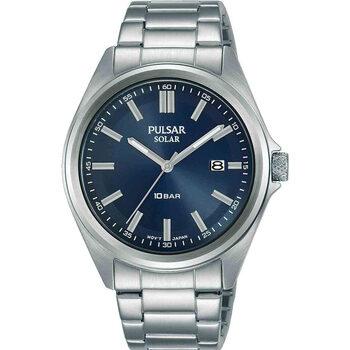 Ceasuri & Bijuterii Bărbați Ceasuri Analogice Pulsar PX3229X1, Quartz, 40mm, 10ATM Argintiu