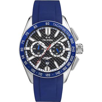 Ceasuri & Bijuterii Bărbați Ceasuri Analogice Tw-Steel GS3, Quartz, 42mm, 10ATM Argintiu