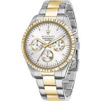 Ceasuri & Bijuterii Bărbați Ceasuri Analogice Maserati R8853100021, Quartz, 43mm, 10ATM Auriu