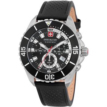 Ceasuri & Bijuterii Bărbați Ceasuri Analogice Swiss Military By Chrono 06-4341.04.007, Quartz, 44mm, 10ATM Argintiu