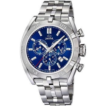 Ceasuri & Bijuterii Bărbați Ceasuri Analogice Jaguar J852/6, Quartz, 45mm, 10ATM Argintiu