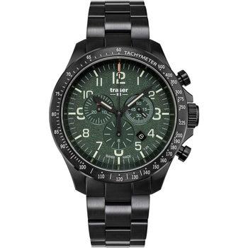 Ceasuri & Bijuterii Bărbați Ceasuri Analogice Traser H3 109464, Quartz, 46mm, 10ATM Negru
