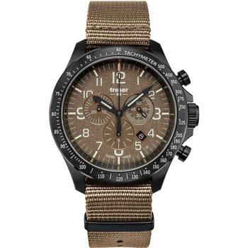 Ceasuri & Bijuterii Bărbați Ceasuri Analogice Traser H3 109459, Quartz, 46mm, 10ATM Negru