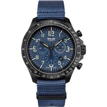 Ceasuri & Bijuterii Bărbați Ceasuri Analogice Traser H3 109461, Quartz, 46mm, 10ATM Negru