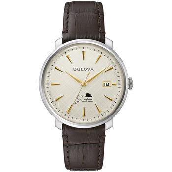Ceasuri & Bijuterii Bărbați Ceasuri Analogice Bulova 96B359, Automatic, 40mm, 3ATM Argintiu