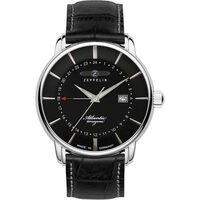 Ceasuri & Bijuterii Bărbați Ceasuri Analogice Zeppelin 8442-2, Quartz, 41mm, 5ATM Argintiu