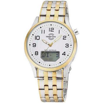 Ceasuri & Bijuterii Bărbați Cesuri Analogic- digital Master Time MTGA-10718-22M, Quartz, 44mm, 3ATM Argintiu