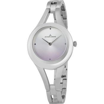 Ceasuri & Bijuterii Femei Ceasuri Analogice Jacques Lemans 1-2071B, Quartz, 32mm, 5ATM Argintiu