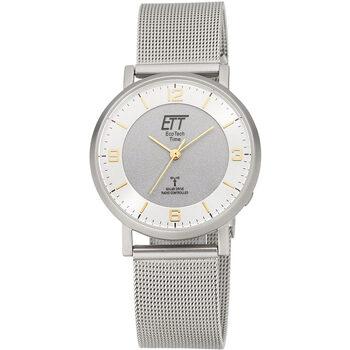 Ceasuri & Bijuterii Femei Ceasuri Analogice Ett Eco Tech Time ELS-11396-26M, Quartz, 36mm, 5ATM Argintiu