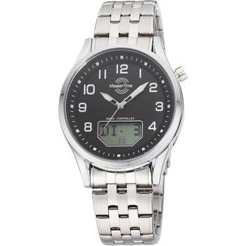 Ceasuri & Bijuterii Bărbați Cesuri Analogic- digital Master Time MTGA-10717-21M, Quartz, 44mm, 3ATM Argintiu