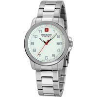 Ceasuri & Bijuterii Bărbați Ceasuri Analogice Swiss Military By Chrono 06-5231.7.04.001.10, Quartz, 39mm, 5ATM Argintiu
