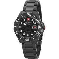 Ceasuri & Bijuterii Bărbați Ceasuri Analogice Swiss Military By Chrono 06-5338.13.007, Quartz, 44mm, 20ATM Negru
