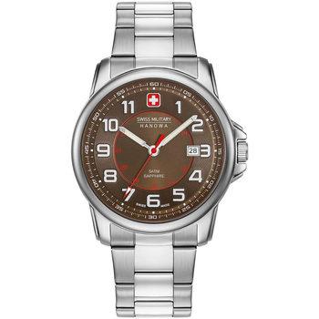 Ceasuri & Bijuterii Bărbați Ceasuri Analogice Swiss Military By Chrono 06-5330.04.005, Quartz, 43mm, 5ATM Argintiu