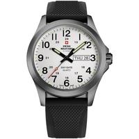Ceasuri & Bijuterii Bărbați Ceasuri Analogice Swiss Military By Chrono SMP36040.21, Quartz, 42mm, 5ATM Gri