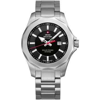 Ceasuri & Bijuterii Bărbați Ceasuri Analogice Swiss Military By Chrono SMS34073.01, Quartz, 42mm, 10ATM Argintiu