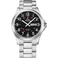 Ceasuri & Bijuterii Bărbați Ceasuri Analogice Swiss Military By Chrono SMP36040.25, Quartz, 42mm, 5ATM Argintiu