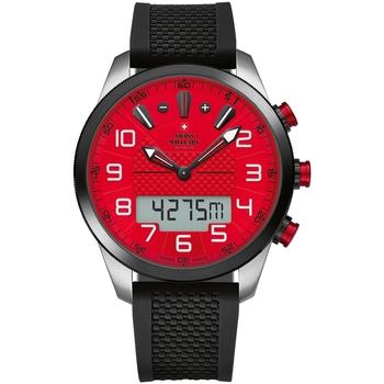 Ceasuri & Bijuterii Bărbați Cesuri Analogic- digital Swiss Military By Chrono SM34061.02, Quartz, 45mm, 10ATM Argintiu