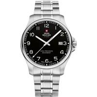 Ceasuri & Bijuterii Bărbați Ceasuri Analogice Swiss Military By Chrono SM30200.16, Quartz, 39mm, 5ATM Argintiu