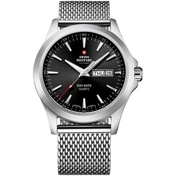 Ceasuri & Bijuterii Bărbați Ceasuri Analogice Swiss Military By Chrono SMP36040.01, Quartz, 42mm, 5ATM Argintiu