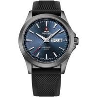 Ceasuri & Bijuterii Bărbați Ceasuri Analogice Swiss Military By Chrono SMP36040.18, Quartz, 42mm, 5ATM Gri