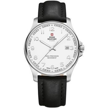 Ceasuri & Bijuterii Bărbați Ceasuri Analogice Swiss Military By Chrono SM30200.25, Quartz, 39mm, 5ATM Argintiu