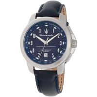 Ceasuri & Bijuterii Bărbați Ceasuri Analogice Maserati R8851121003, Quartz, 44mm, 5ATM Argintiu