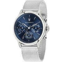 Ceasuri & Bijuterii Bărbați Ceasuri Analogice Maserati R8853118013, Quartz, 42mm, 10ATM Argintiu