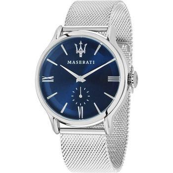 Ceasuri & Bijuterii Bărbați Ceasuri Analogice Maserati R8853118006, Quartz, 42mm, 10ATM Argintiu