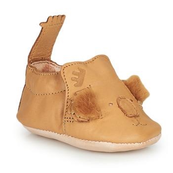 Pantofi Copii Papuci de casă Easy Peasy BLUMOO KOALA Maro