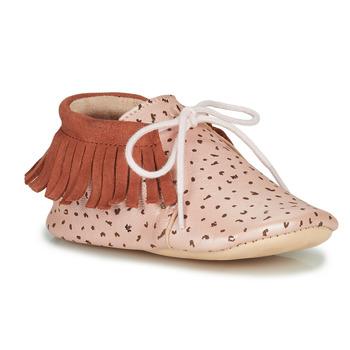 Pantofi Fete Papuci de casă Easy Peasy MEXIMOO Roz