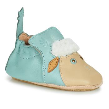 Pantofi Copii Papuci de casă Easy Peasy BLUBLU MOUTON Albastru