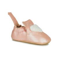 Pantofi Fete Papuci de casă Easy Peasy BLUBLU COEUR Roz