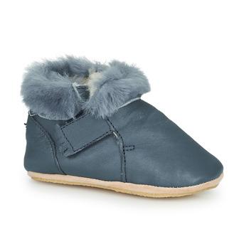 Pantofi Copii Papuci de casă Easy Peasy FOUBLU Albastru