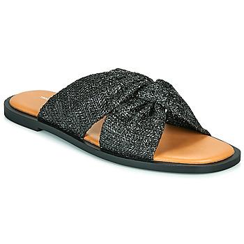 Pantofi Femei Papuci de vară Vanessa Wu ANELLE Negru