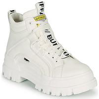 Pantofi Femei Ghete Buffalo ASPHA NC MID Alb