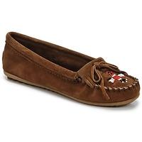 Pantofi Femei Mocasini Minnetonka THUNDERBIRD II Maro / Culoare închisă