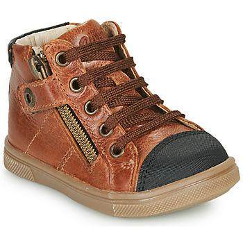 Pantofi Băieți Pantofi sport stil gheata GBB KAMIL Maro