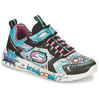 Pantofi Fete Pantofi sport Casual Skechers DYNAMIGHT/HERO STATUS Multicolor