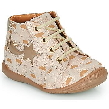 Pantofi Fete Pantofi sport stil gheata GBB POMME Bej