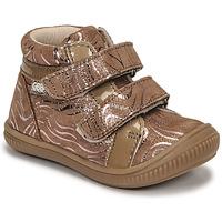 Pantofi Fete Pantofi sport stil gheata GBB EDEA Bej