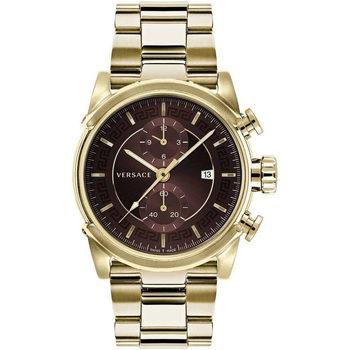 Ceasuri & Bijuterii Bărbați Ceasuri Analogice Versace VEV400619, Quartz, 44mm, 5ATM Auriu