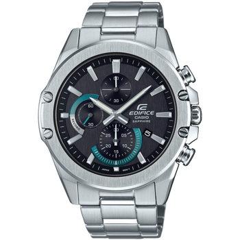 Ceasuri & Bijuterii Bărbați Ceasuri Analogice Casio EFR-S567D-1AVUEF, Quartz, 44mm, 10ATM Argintiu