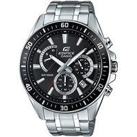 Ceasuri & Bijuterii Bărbați Ceasuri Analogice Casio EFR-552D-1AVUEF, Quartz, 45mm, 10ATM Argintiu