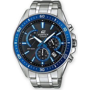 Ceasuri & Bijuterii Bărbați Ceasuri Analogice Casio EFR-552D-1A2VUEF, Quartz, 45mm, 10ATM Argintiu
