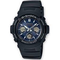 Ceasuri & Bijuterii Bărbați Ceasuri Analogice Casio AWG-M100SB-2AER, Quartz, 46mm, 20ATM Negru