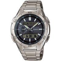 Ceasuri & Bijuterii Bărbați Cesuri Analogic- digital Casio WVA-M650TD-1AER, Quartz, 44mm, 10ATM Argintiu