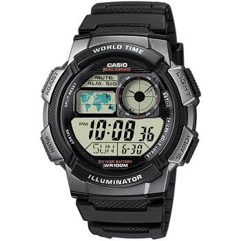 Ceasuri & Bijuterii Bărbați Ceasuri Digitale Casio AE-1000W-1BVEF, Quartz, 43mm, 10ATM Negru