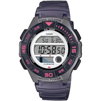 Ceasuri & Bijuterii Femei Ceasuri Digitale Casio LWS-1100H-8AVEF, Quartz, 38mm, 10ATM Argintiu