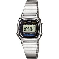 Ceasuri & Bijuterii Femei Ceasuri Digitale Casio LA670WEA-1EF, Quartz, 24mm, 3ATM Argintiu